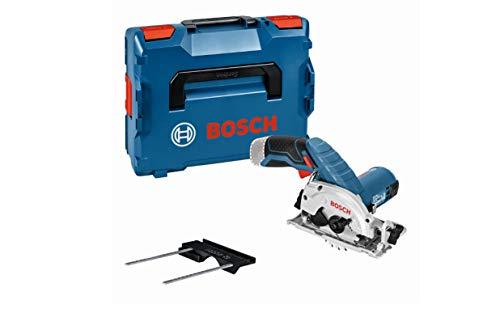 Bosch Professional 12V System Akku Kreissäge GKS 12V-26 (Sägeblatt-Ø: 85 mm, ohne Akkus und Ladegerät, in L-BOXX)
